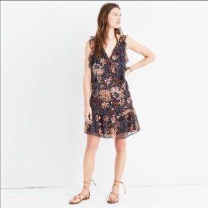 Madewell || Bohemian Floral Mini Dress
